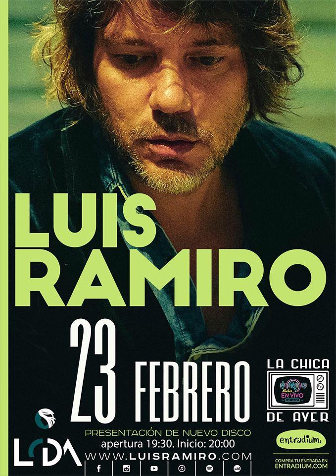 La Chica de Ayer Luis Ramiro Salamanca Febrero 2020