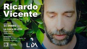 La Chica de Ayer Ricardo Vicente Salamanca Enero 2020