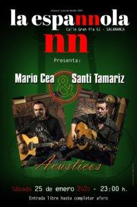 La Espannola Mario Cea & Santi Tamariz Salamanca Enero 2020