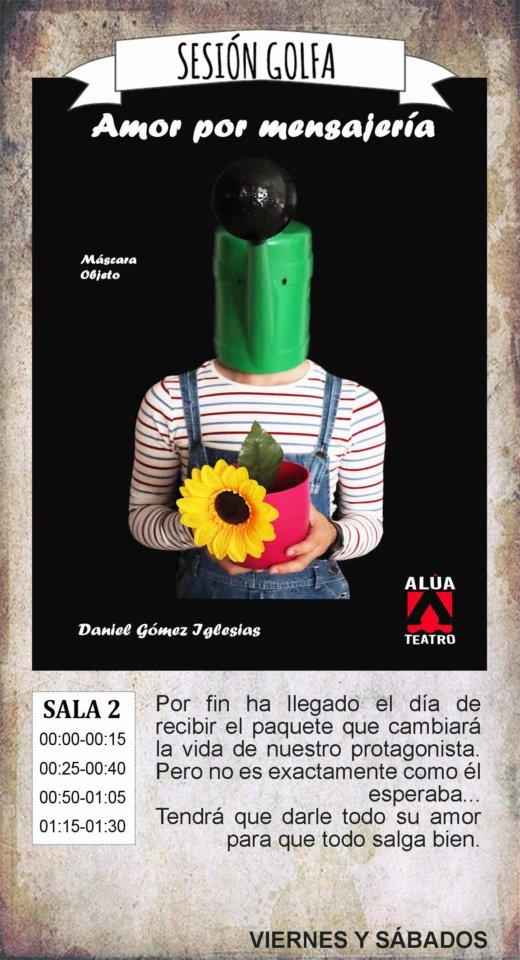 La Malhablada Amor por mensajería Sesión Golfa Salamanca Enero 2020