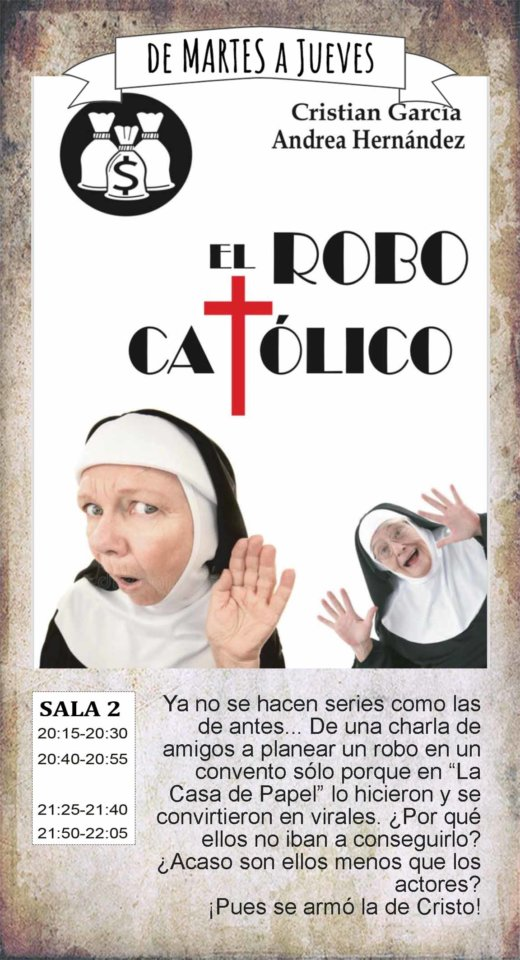 La Malhablada El robo católico Salamanca Enero 2020