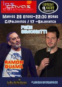Las Cavas del Champán Fede Simonetti + Ramón Guamá Salamanca Enero 2020