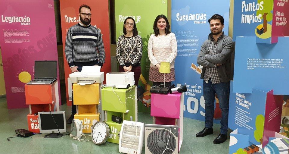 Miraltormes Los RAEE no son basura, recíclalos Salamanca Enero febrero 2020