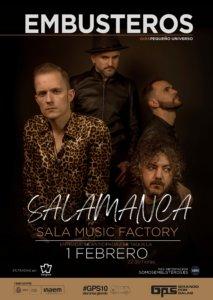 Music Factory Embusteros Salamanca Febrero 2020