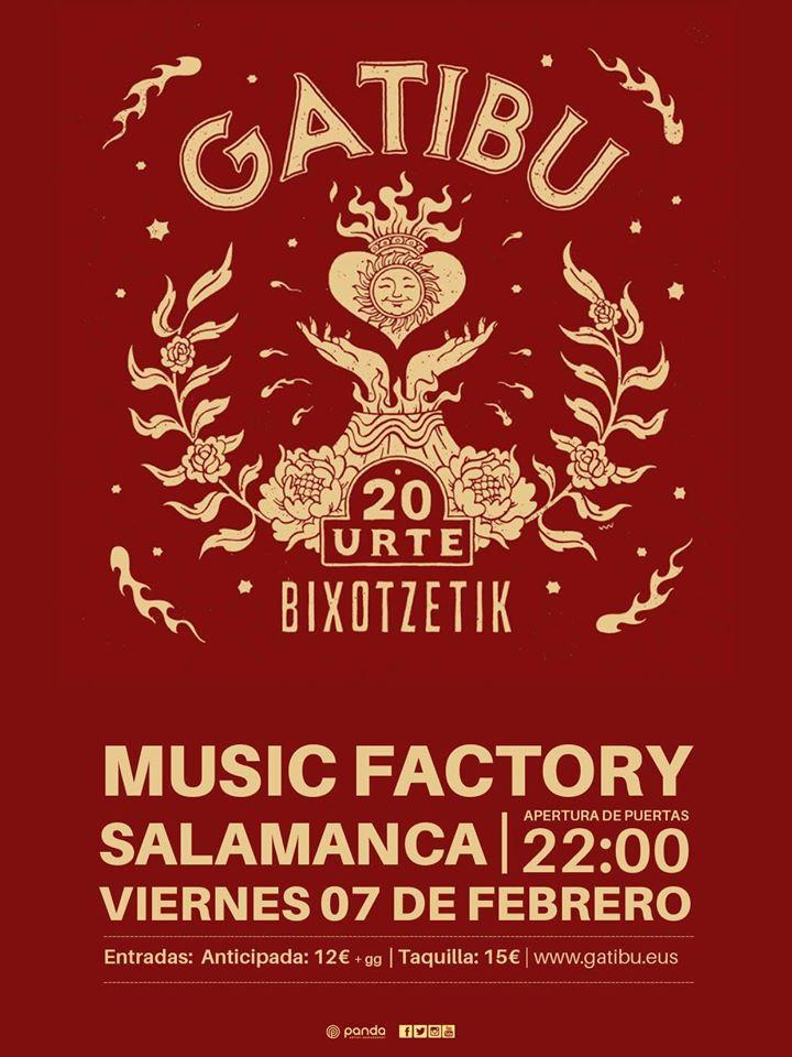 Music Factory Gatibu Salamanca Febrero 2020