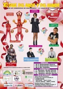 Palacio de Congresos y Exposiciones Gala del Amor y del Humor Salamanca Febrero 2020