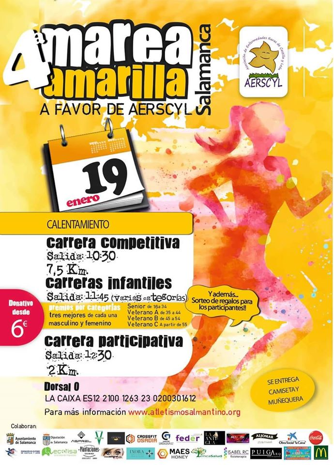 Plaza de la Concordia IV Marea Amarilla Salamanca Enero 2020