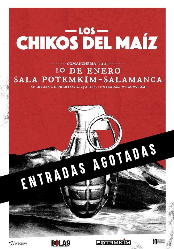 Potemkim Los Chikos del Maíz Salamanca Enero 2020