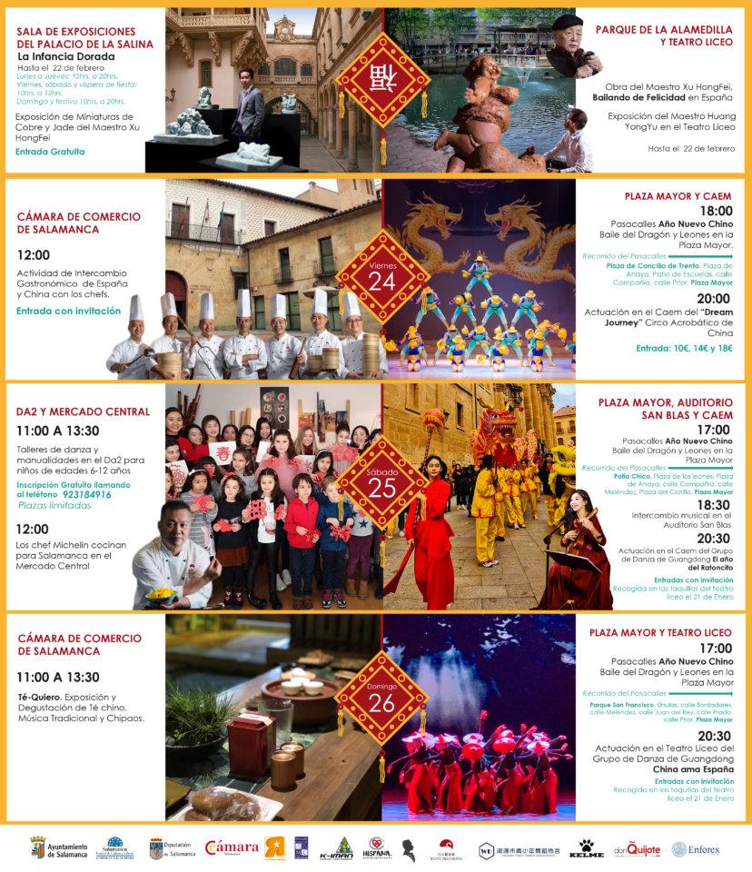 Salamanca Año Nuevo Chino Enero 2020