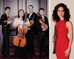 Teatro Liceo Cuarteto Calidore y Cristina Gómez Godoy Salamanca Enero 2020