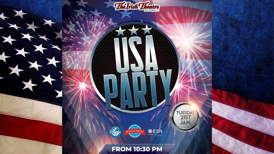 The Irish Theatre USA Party Salamanca Enero 2020
