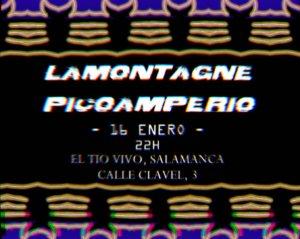 Tío Vivo LaMontagne & PicoAmperio Salamanca Enero 2020