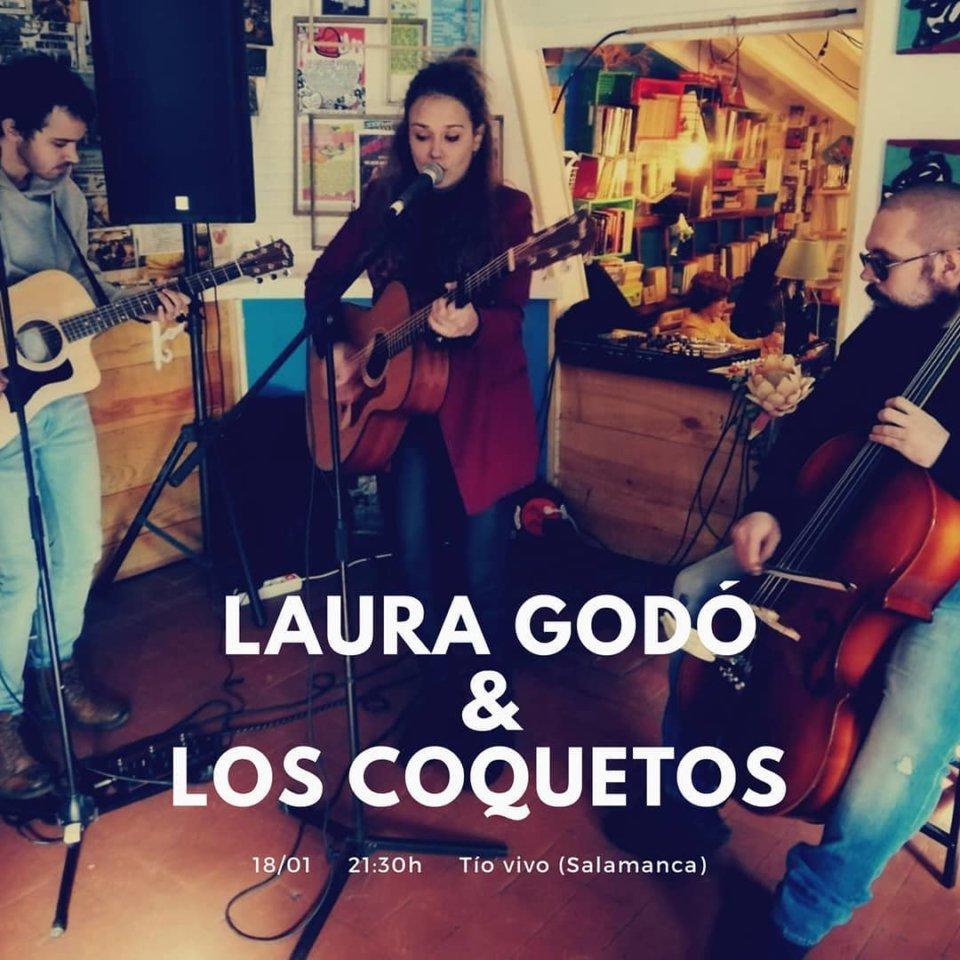 Tío Vivo Laura Godó & Los Coquetos Salamanca Enero 2020