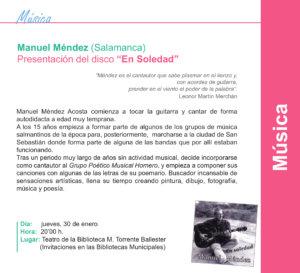 Torrente Ballester Manuel Méndez Salamanca Enero 2020