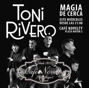 Café Novelty Toni Rivero Salamanca Febrero 2020