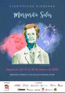 Casa de las Conchas Mujeres y ciencia. Científicas pioneras. Margarita Salas