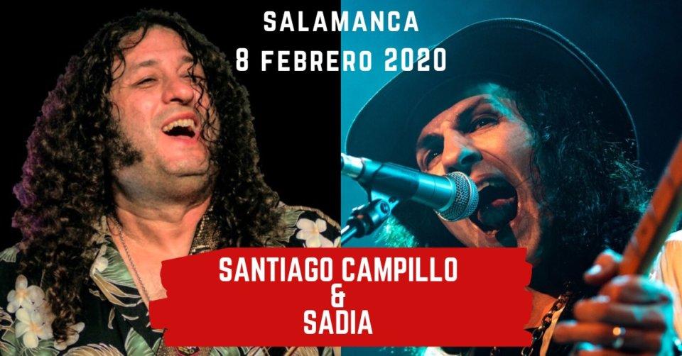 Centro de las Artes Escénicas y de la Música CAEM Santiago Campillo + Sadia Conciertos Sala B Salamanca Febrero 2020