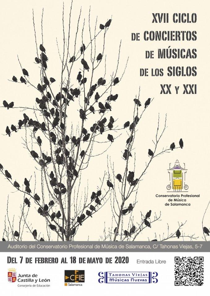 Conservatorio Profesional de Música de Salamanca XVII Ciclo de Música de los Siglos XX y XXI 2020