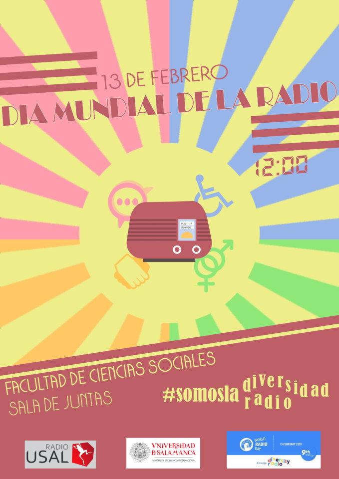 Edificio FES Día Mundial de la Radio Salamanca Febrero 2020