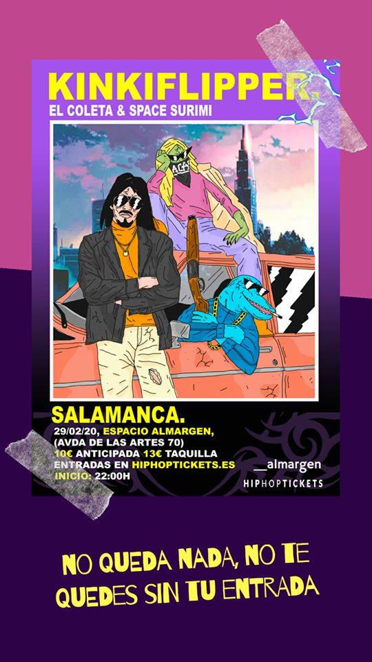 Espacio Almargen El Coleta & Space Surimi Salamanca Febrero 2020