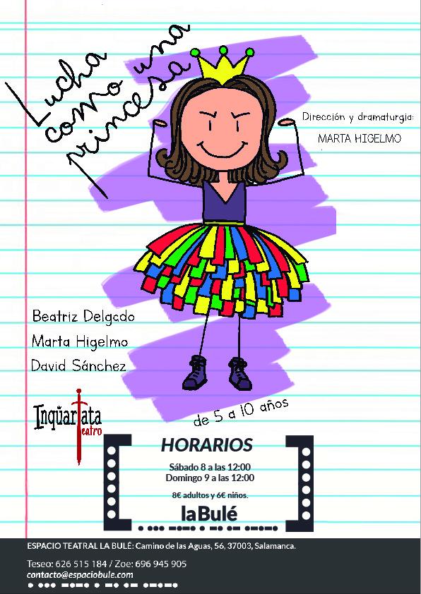 Espacio Bulé Inquartata Teatro Salamanca Febrero 2020