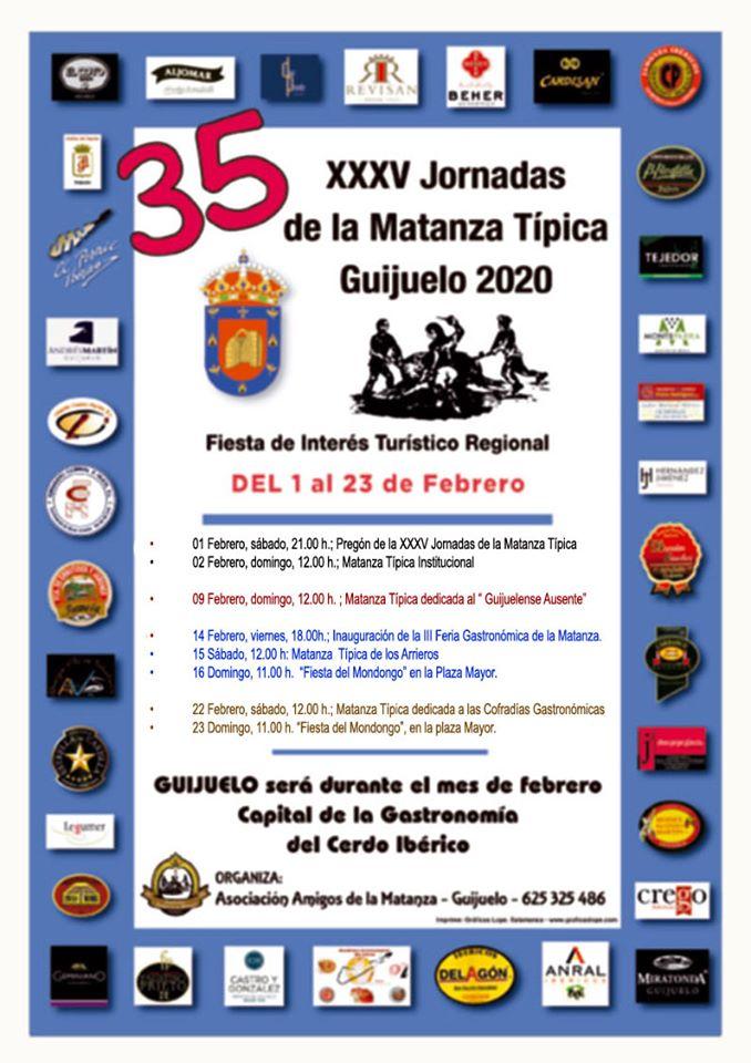 Guijuelo XXXV Jornadas de la Matanza Típica Febrero 2020