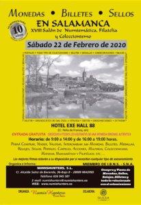 Hall 88 XVIII Salón de Numismática, Filatelia y Coleccionismo Salamanca Febrero 2020