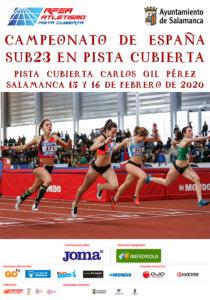 La Aldehuela Campeonato de España Sub23 en Pista Cubierta Salamanca Febrero 2020