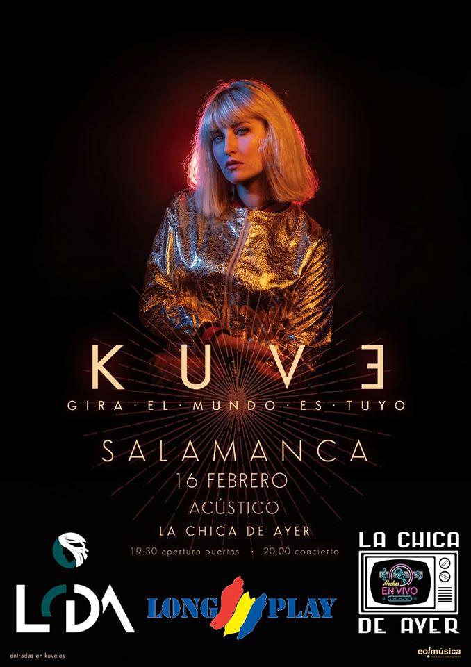 La Chica de Ayer Kuve Salamanca Febrero 2020