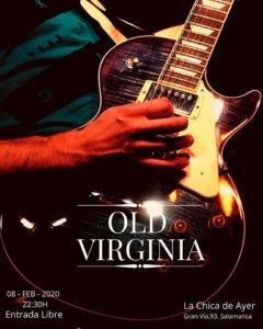 La Chica de Ayer Old Virginia Salamanca Febrero 2020