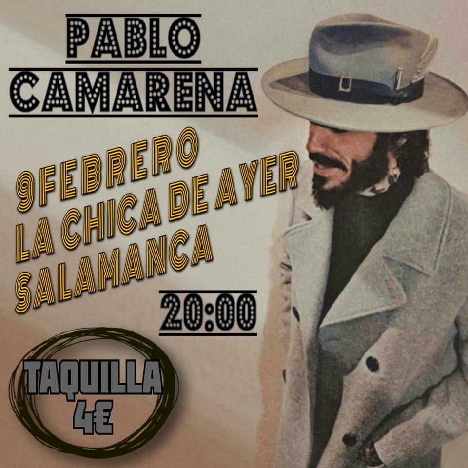 La Chica de Ayer Pablo Camarena Salamanca Febrero 2020