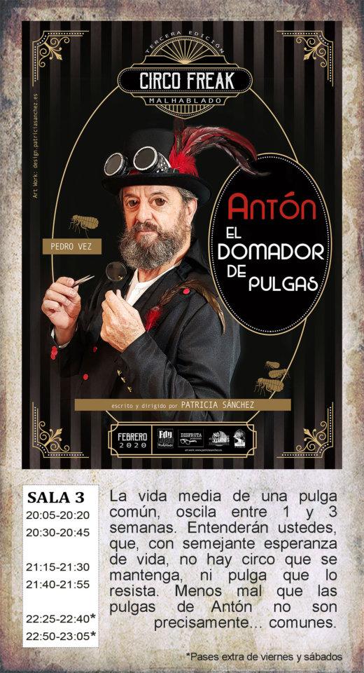 La Malhablada Antón el domador de pulgas Salamanca Febrero 2020