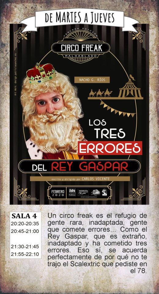La Malhablada Los tres errores del rey Gaspar Salamanca Febrero 2020
