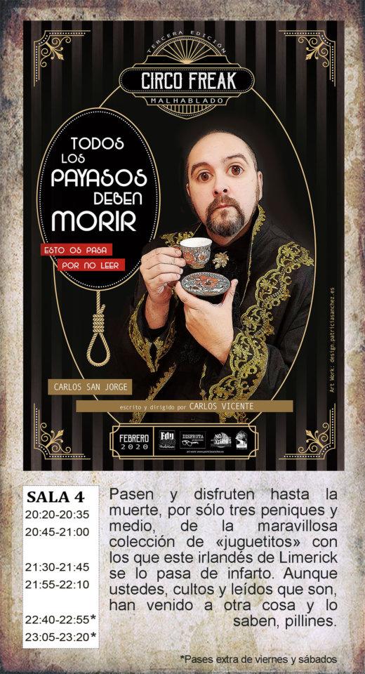 La Malhablada Todos los payasos deben morir Salamanca Febrero 2020