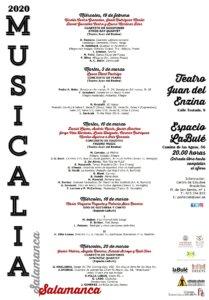 Musicalia 2020 Salamanca