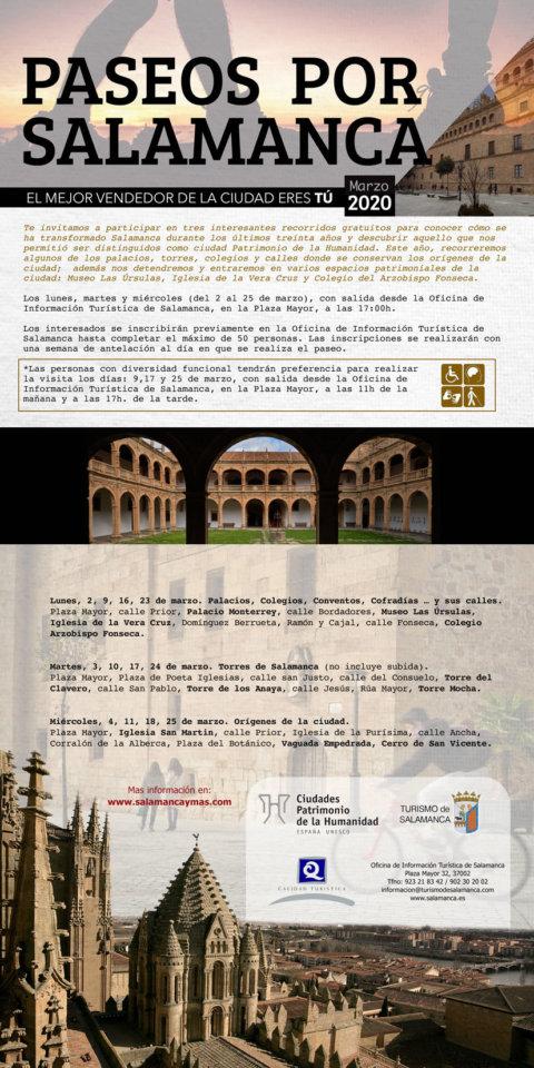 Plaza Mayor Paseos por Salamanca 2020 Marzo