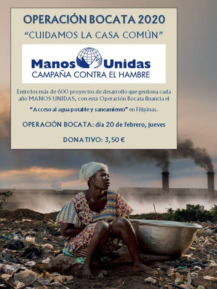 Salamanca Manos Unidas Operación Bocata 2020