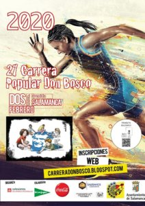 Salamanca XXVII Carrera Popular Don Bosco Febrero 2020
