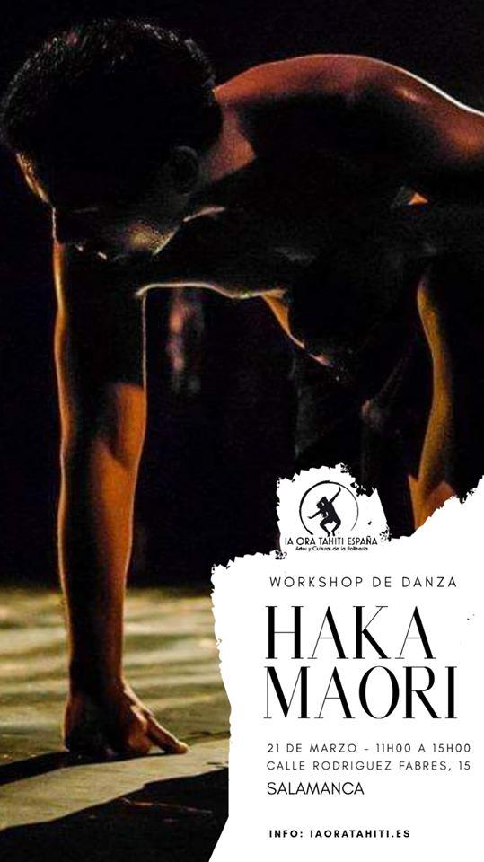Sport Well Taller de Haka Maorí Salamanca Marzo 2020