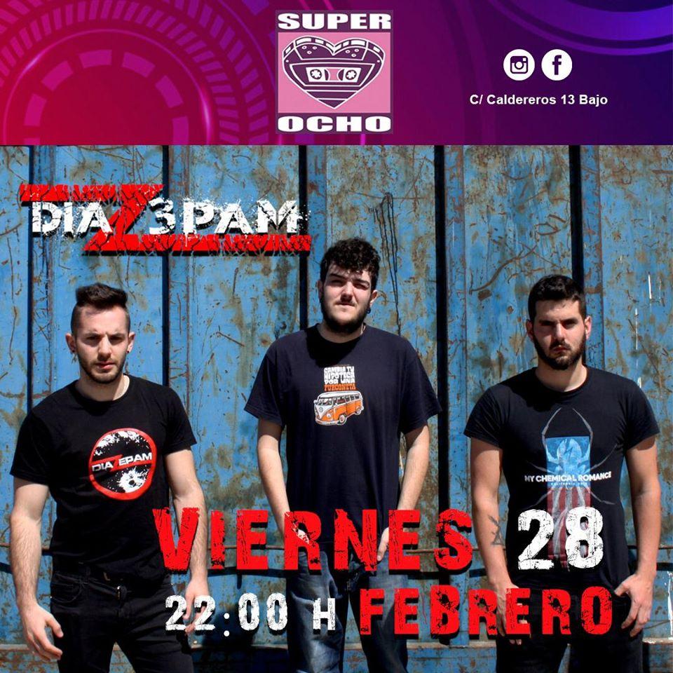 Super 8 Diazepam Salamanca Febrero 2020