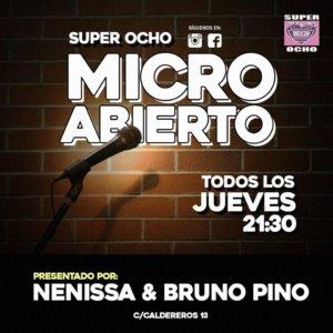Super 8 Micro abierto Salamanca Febrero marzo abril mayo junio 2020