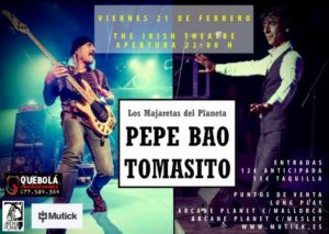 The Irish Theatre Pepe Bao & Tomasito Salamanca Febrero 2020
