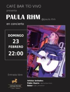 Tío Vivo Paula RHM Salamanca Febrero 2020