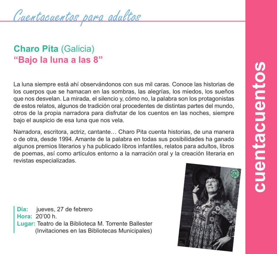 Torrente Ballester Charo Pita Salamanca Febrero 2020
