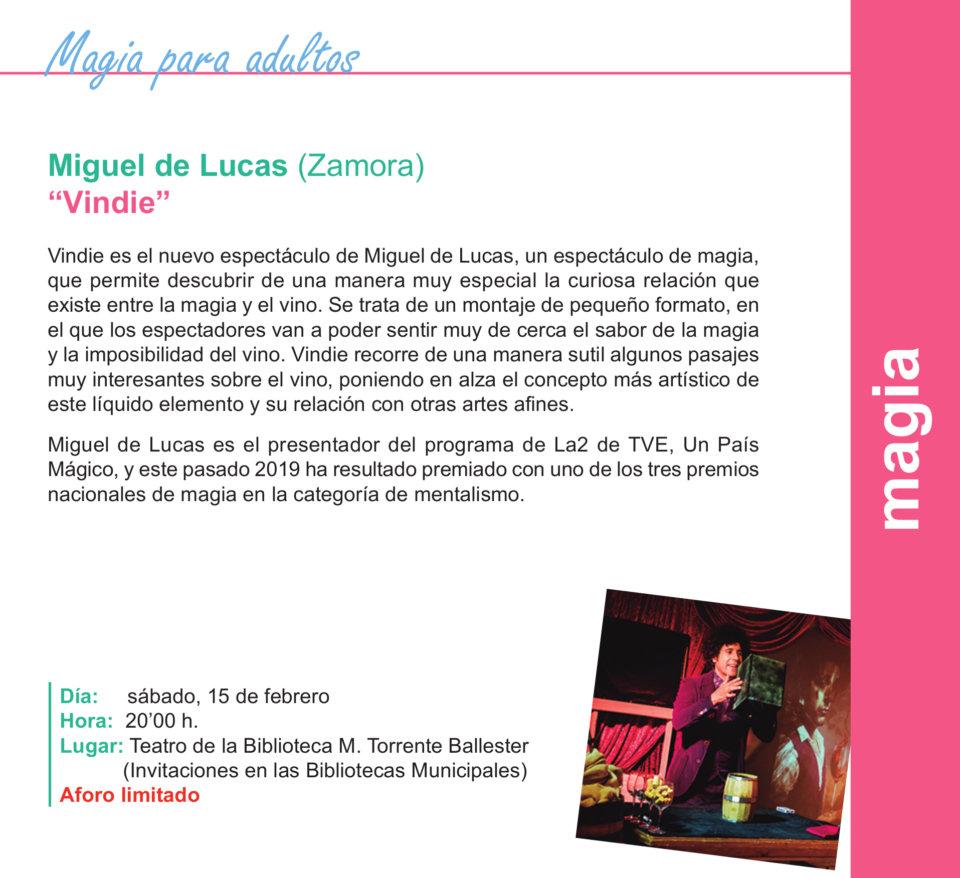 Torrente Ballester Miguel de Lucas Salamanca Febrero 2020