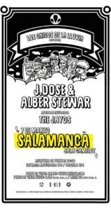 Camelot Javi Dose & Alber Stewart + The Jayos Salamanca Marzo 2020