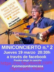 Fernando Maés #YoMeQuedoEnCasa 19 de marzo de 2020 Salamanca y resto del mundo