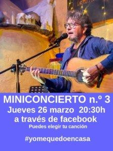 Fernando Maés #YoMeQuedoEnCasa 26 de marzo de 2020 Salamanca y resto del mundo