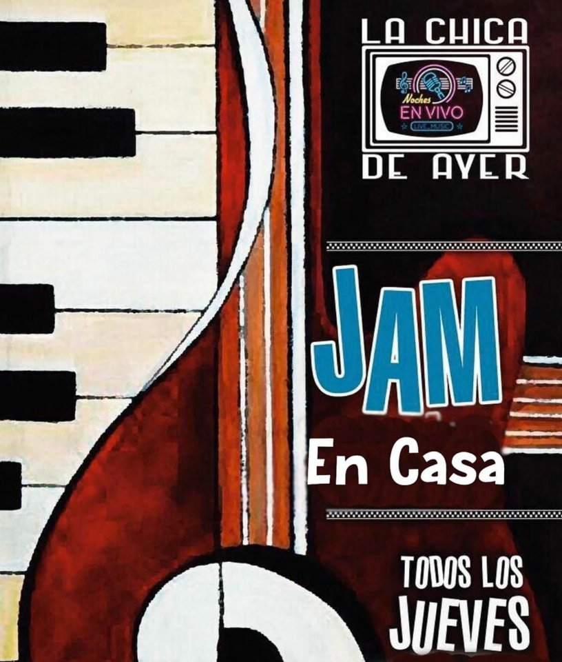 La Chica de Ayer Jam en Casa Salamanca 2020