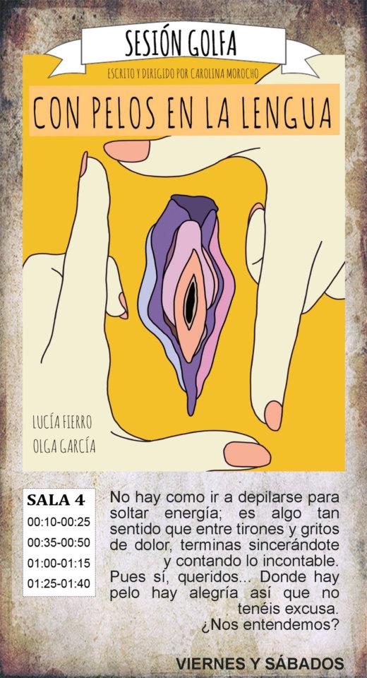 La Malhablada Con pelos en la lengua Sesión Golfa Salamanca Marzo 2020